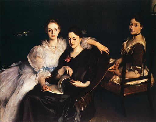 John Singer Sargent The Misses Vickers 1884