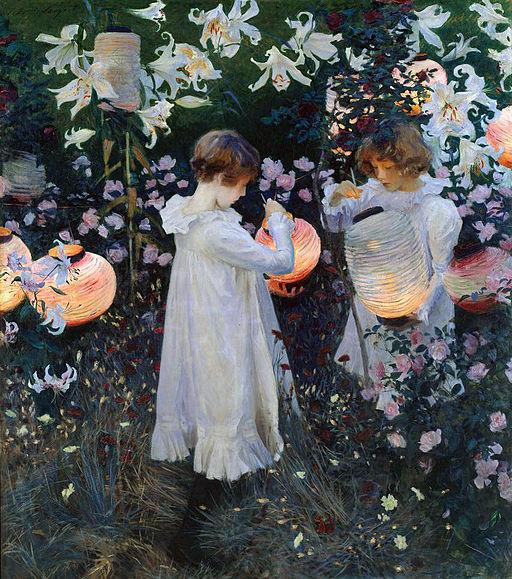 John Singer Sargent Carnation, Lily, Lily, Rose 1885-1886