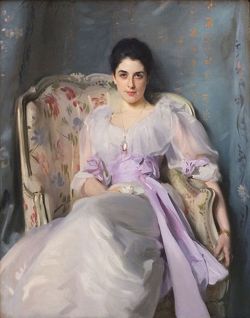 John Singer Sargent Portrait of Lady Agnew of Lochnaw 1892-1893