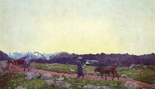 Giovanni Segantini Nature 1898-1899