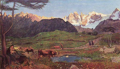 Giovanni Segantini Life 1898-1899