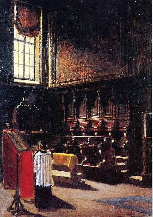 Giovanni Segantini Coro di St.Antonio 1879