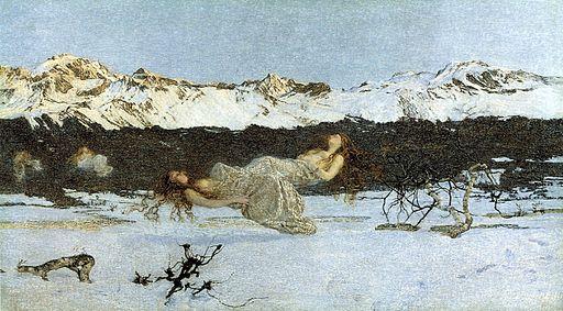 Giovanni Segantini The Punishment of Lust 1891