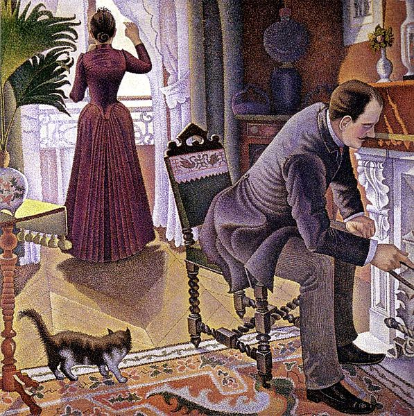 Paul Signac Sunday 1888-1890