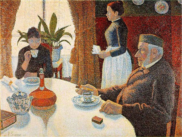 Paul Signac Breakfast 1886-1887