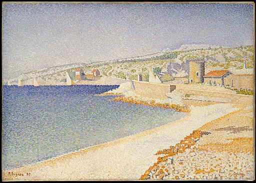 Paul Signac The Jetty at Cassis 1889