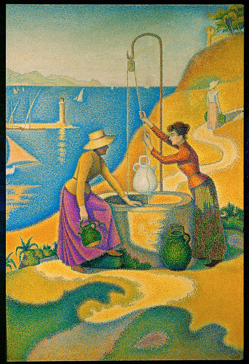 Paul Signac Women at the Well 1892
