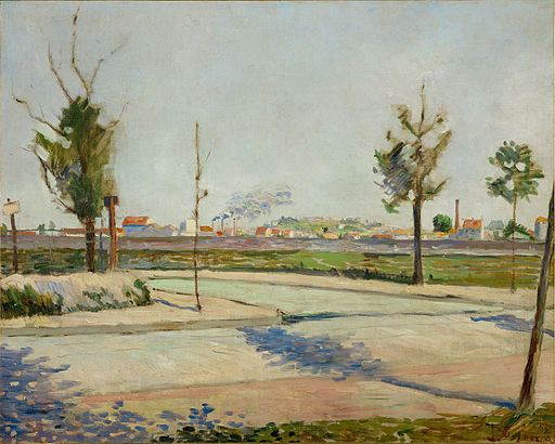 Paul Signac Road to Gennevilliers 1883