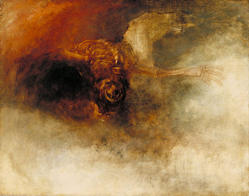 J. M. W. Turner Death on a pale horse 1825