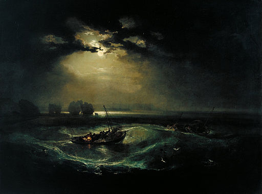 J. M. W. Turner Fishermen at Sea 1796