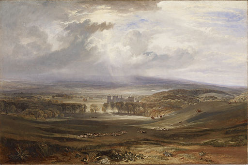 J. M. W. Turner Raby Castle, the Seat of the Earl of Darlington 1817
