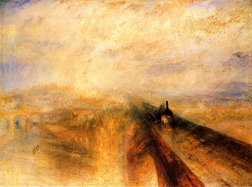 J. M. W. Turner Rain, Steam and Speed - The Great Western Railway 1844