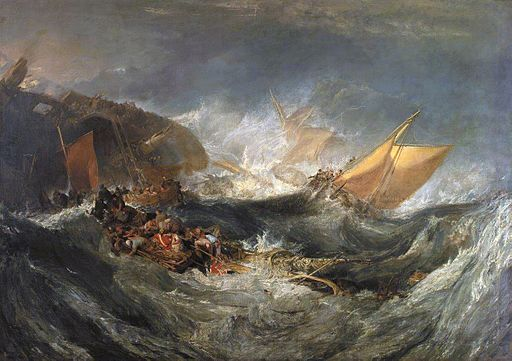 J. M. W. Turner Shipwreck of the Minotaur 1810