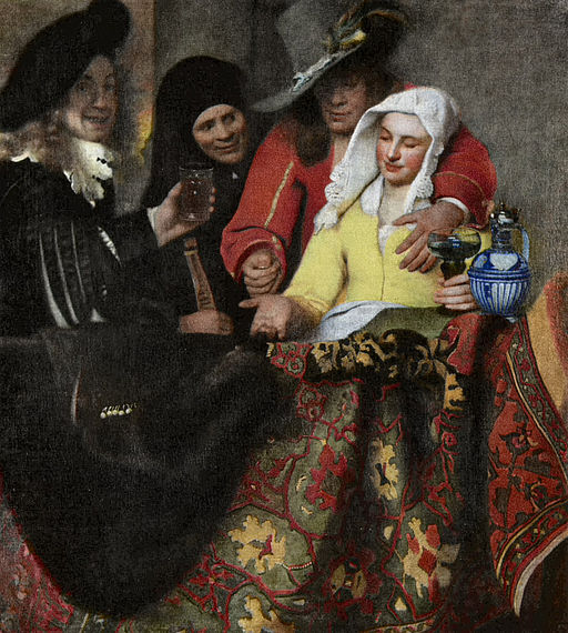 Johannes Vermeer The Procuress