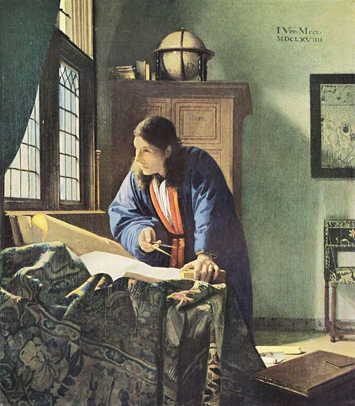 Johannes Vermeer The Geographer