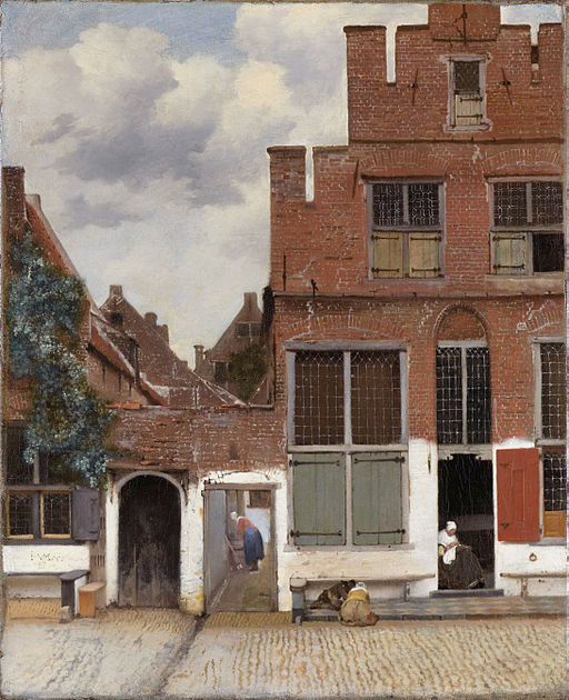 Johannes Vermeer The Little Street
