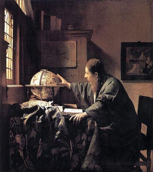 Johannes Vermeer The Astronomer 1668