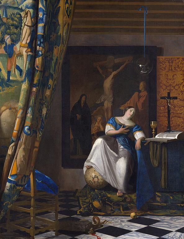 Johannes Vermeer The Allegory of the Faith 1671-1674