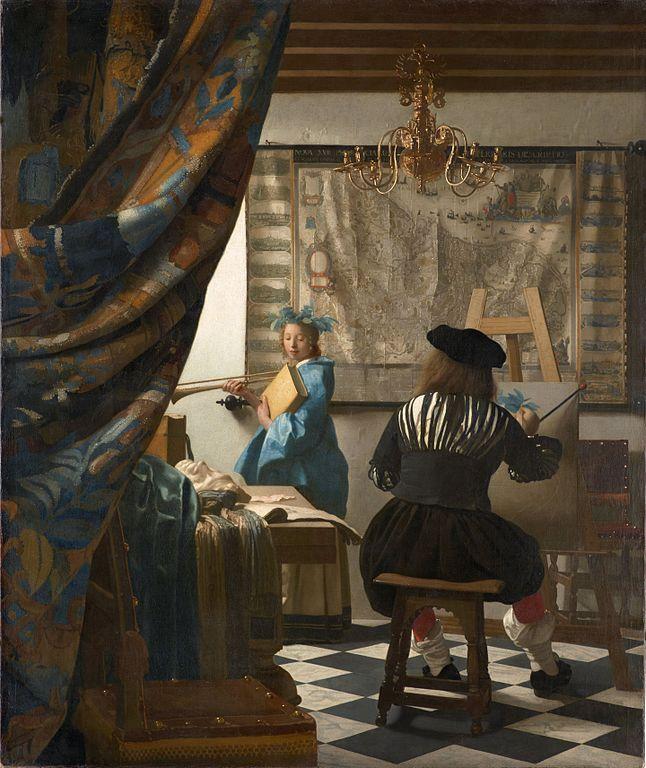 Johannes Vermeer The Art of Painting 1666-1667