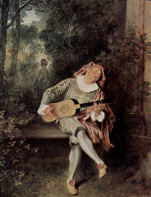 Jean-Antoine Watteau A Mezzetino