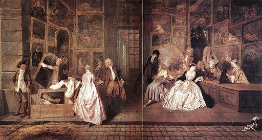 Jean-Antoine Watteau L'Enseigne de Gersaint