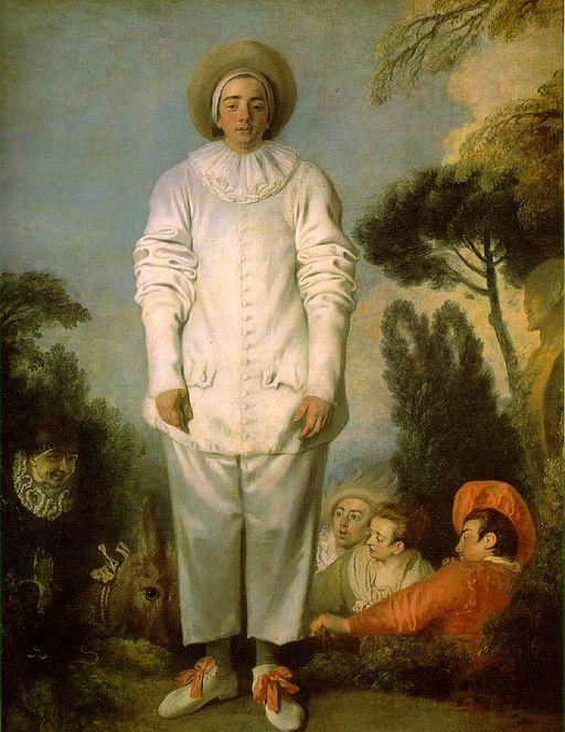 Jean-Antoine Watteau Pierrot