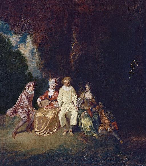Jean-Antoine Watteau A Pierrot