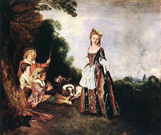 Jean-Antoine Watteau The Dance