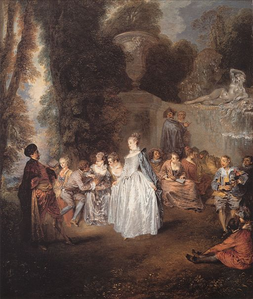 Jean-Antoine Watteau Feast in Venice