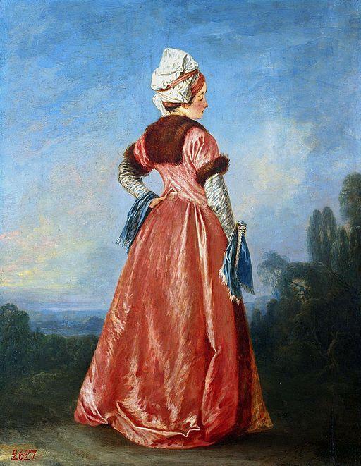 Jean-Antoine Watteau Polish woman