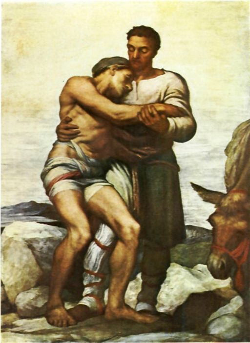 George Frederic Watts The Good Samaritan 1904