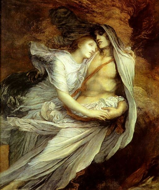 George Frederic Watts Paolo and Francesca 1872-1875