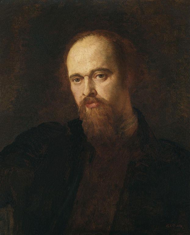 George Frederic Watts Dante Gabriel Rossetti 1871