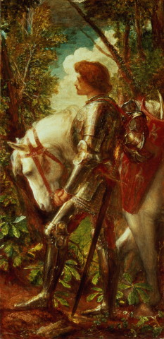 George Frederic Watts Sir Galahad 1888