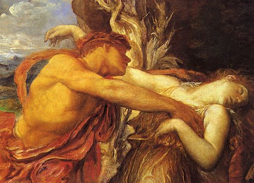 George Frederic Watts Orpheus and Eurydice