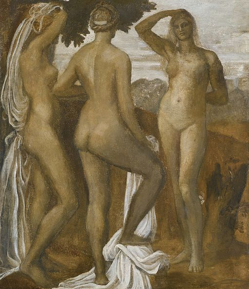 George Frederic Watts The Judgement of Paris