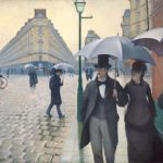 Gustave Caillebotte, Paris Street in Rainy Weather (1877)