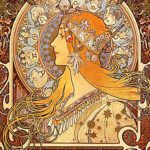 Alfons Maria Mucha, Zodiac (1896-1897)