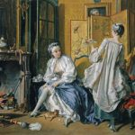 Boucher, La toilette (1742)