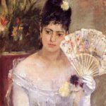 Berthe Morisot, Jeune fille au bal (1875)