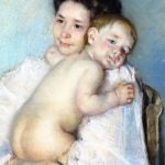 Cassatt Mary, Mother Berthe Holding Her Baby (1903)