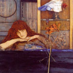 Fernand Khnopff, I lock my door upon myself (1891)