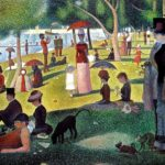 Georges Seurat, A Sunday Afternoon on the Island of La Grande Jatte (1884-1886)