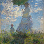 Claude Monet, Woman with a Parasol - Madame Monet and Her Son (1875)