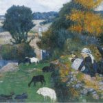 Paul Gauguin, The Breton shepherdess (1886)