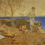 Pierre Puvis de Chavannes, The Happy Land (1882)